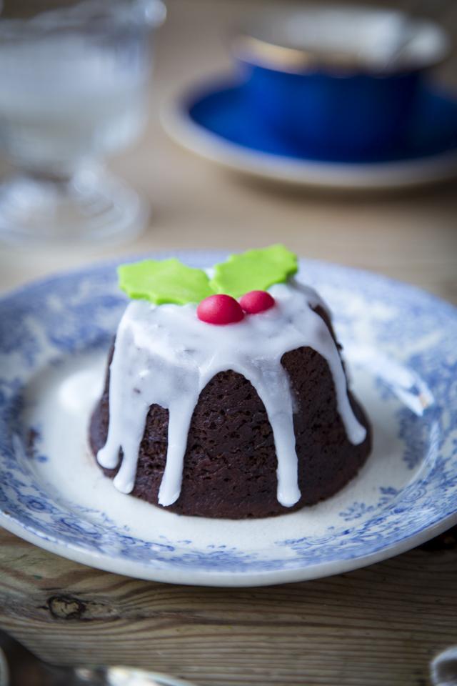 Mini Chocolate Christmas Puddings   DonalSkehan.com, A brilliant alternative to traditional Christmas pudding.