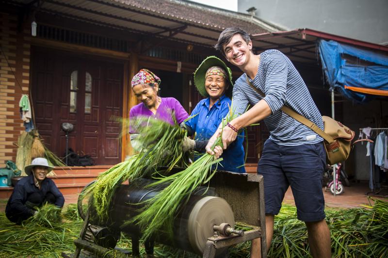 Follow Donal…To Vietnam