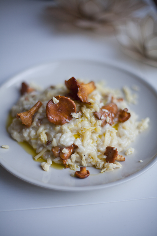 Wild Mushroom Risotto | DonalSkehan.com, A creamy and delicious lunch or light supper.