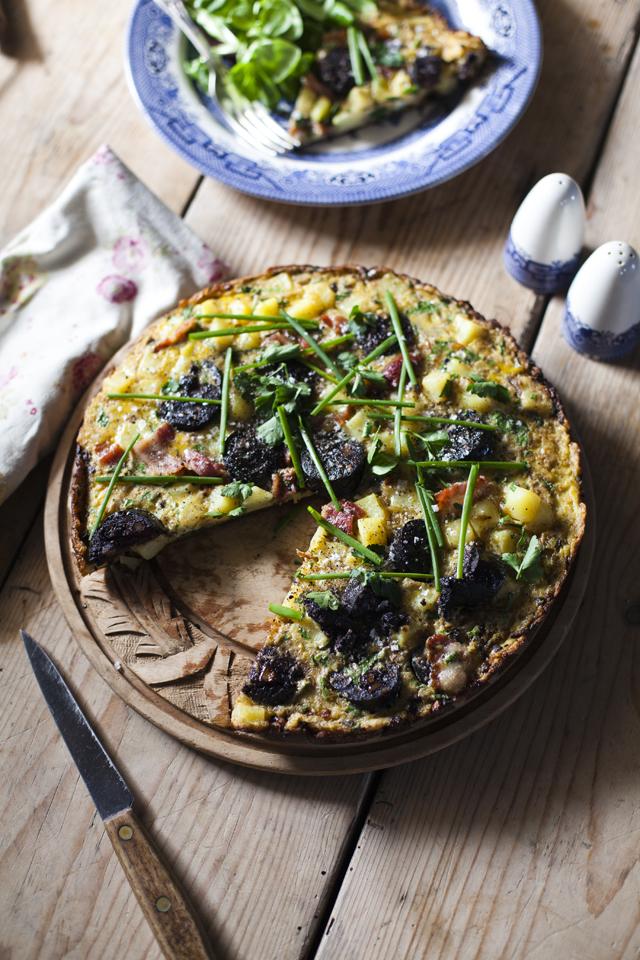Irish Omelette | DonalSkehan.com, Really tasty lunch option.