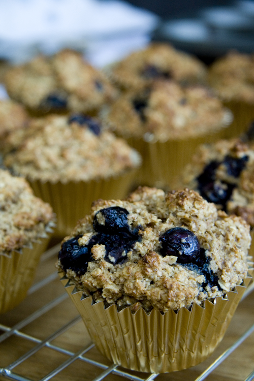 Blueberry and Banana Breakfast Muffins | DonalSkehan.com | HomeCooked ...