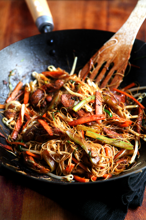 Healthy Singapore Noodles   DonalSkehan.com, Delicious, healthy & ready in a flash!
