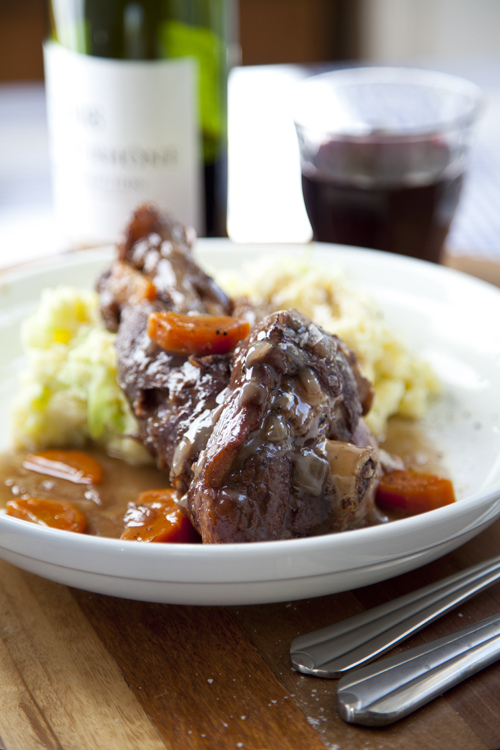 Lamb Shanks with Colcannon Mash | DonalSkehan.com | HomeCooked Kitchen ...
