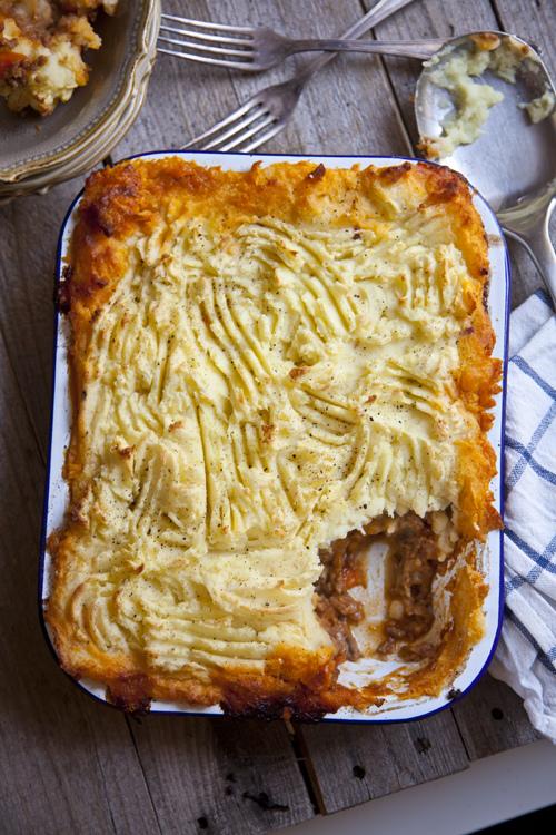 Roast Garlic Shepherd's Pie | DonalSkehan.com, Classic & delicious weekday dinner.
