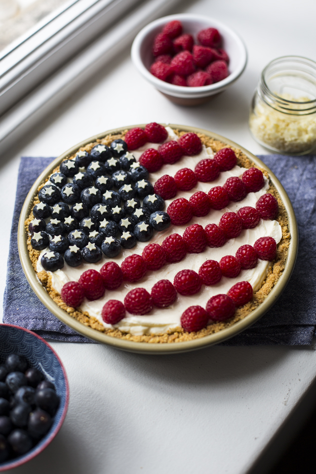 4th of July American Pie | DonalSkehan.com, The perfect centrepiece for your 4th of July celebrations.