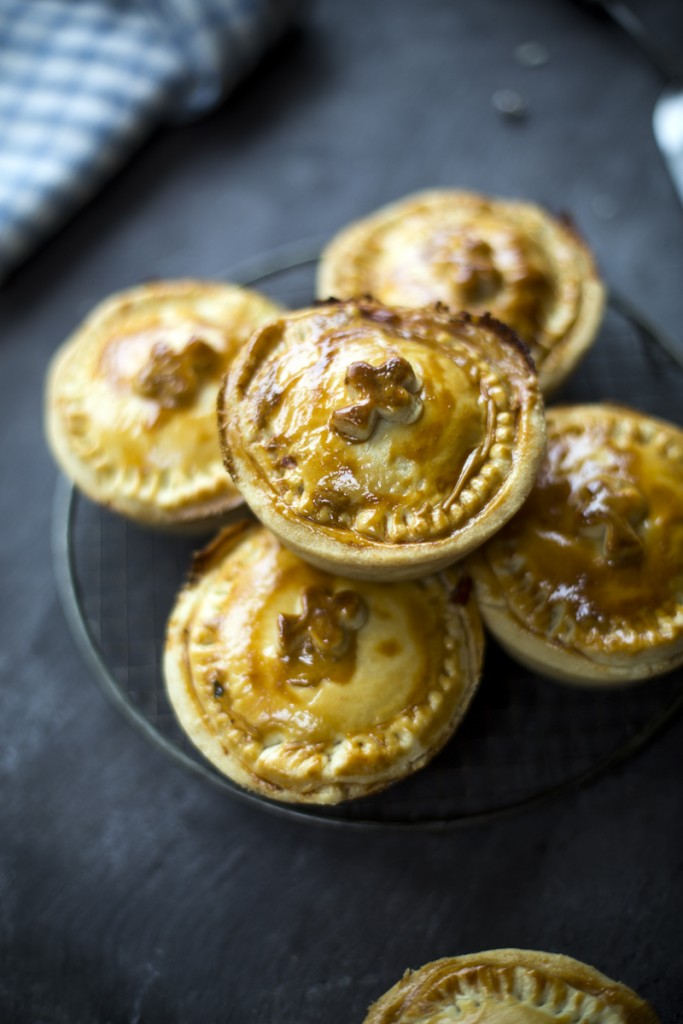 Individual Bacon & Cabbage Pies | DonalSkehan.com, A twist on the Irish classic bacon and cabbage in the form of a pie!