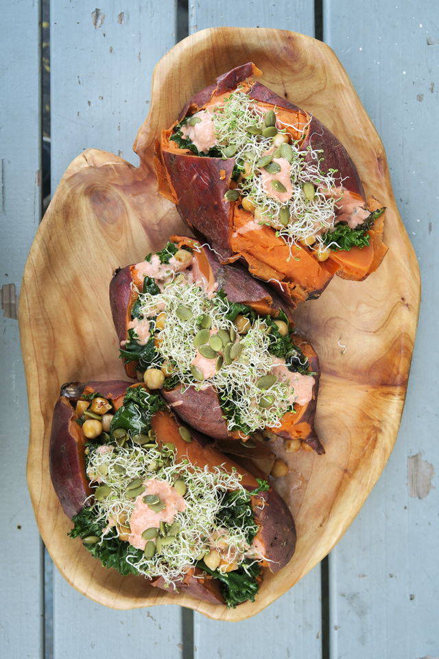 Superseed Roast Sweet Potato | DonalSkehan.com, Cheap, filling but most importantly delicious!