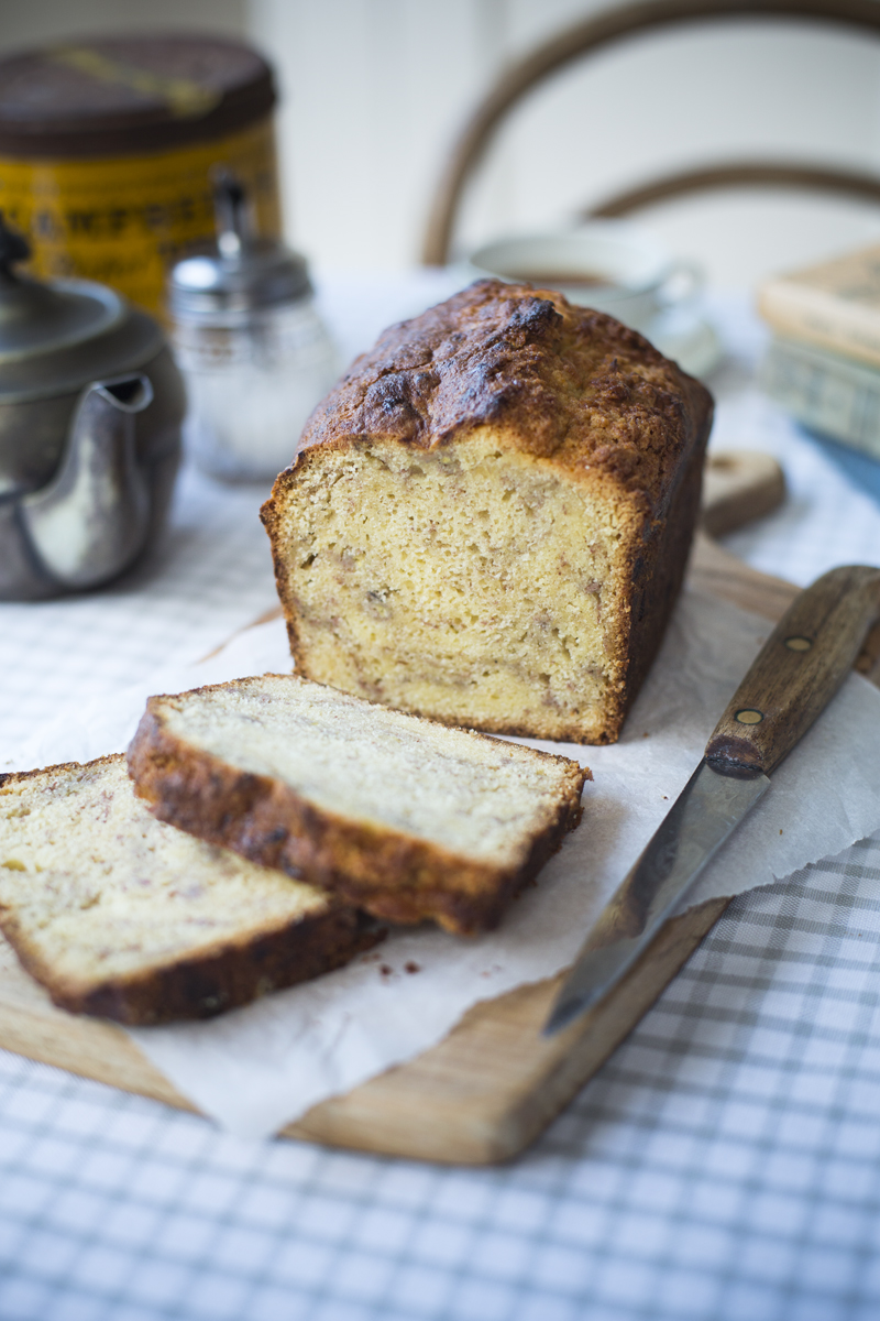 Auntie Ann's Banana Bread | DonalSkehan.com, Perfect to enjoy with a cup of tea.