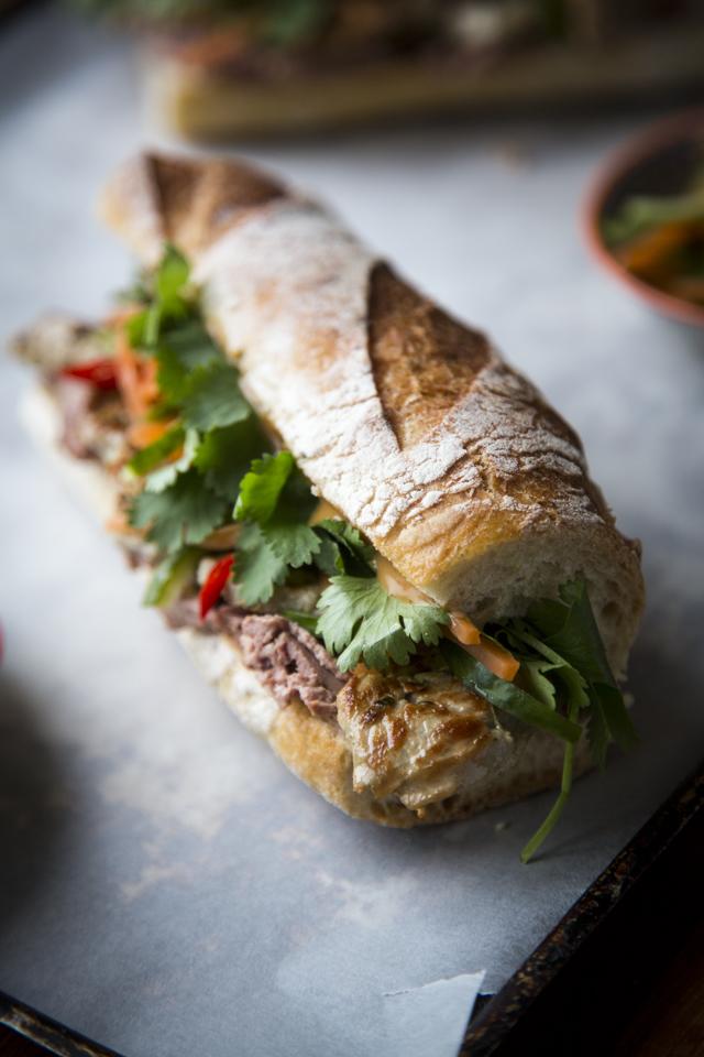 Banh Mi Sandwich | DonalSkehan.com, A Vietnamese street food classic!