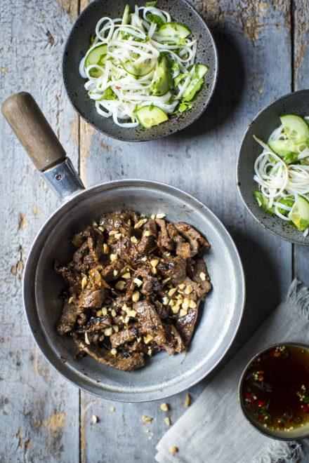 Vietnamese Beef Noodle Salad | DonalSkehan.com, Quick & tasty midweek dinner!