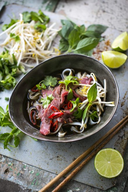Beef Pho | DonalSkehan.com, A classic Asian dish, bursting with flavour!