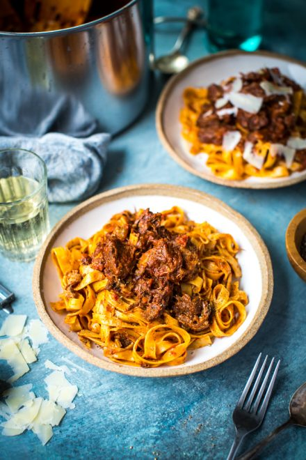 Slow-Cooked Beef Ragu | DonalSkehan.com, The perfect comfort food.