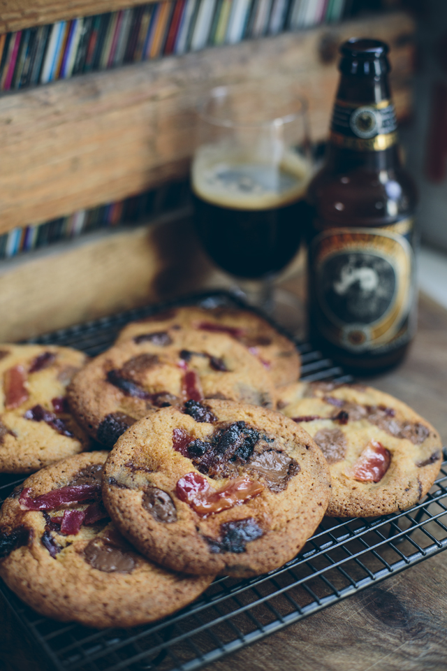 Beer and Bacon Cookies | DonalSkehan.com, Delicious, grown up cookies.