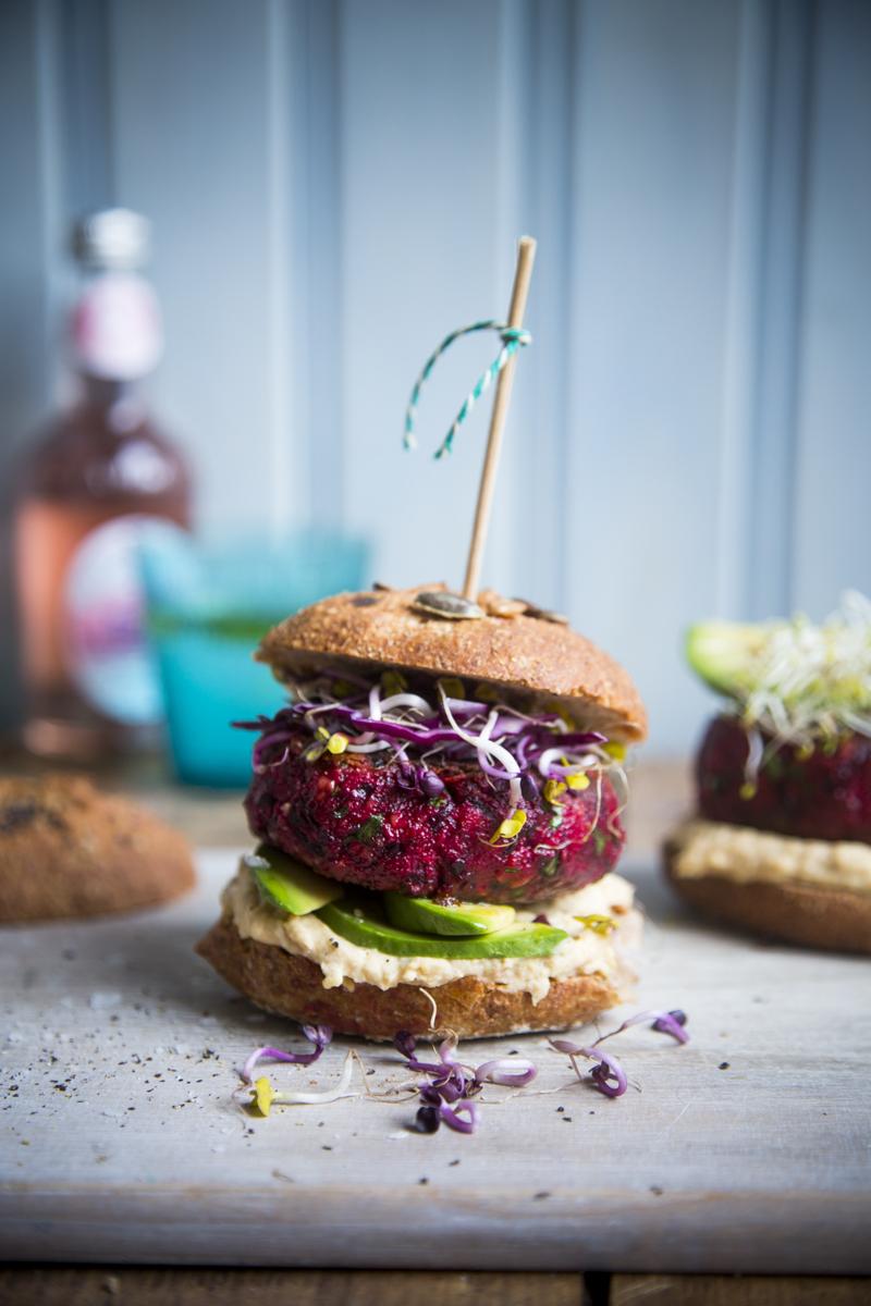Beetroot Burgers   DonalSkehan.com, My favourite veggie burger recipe.