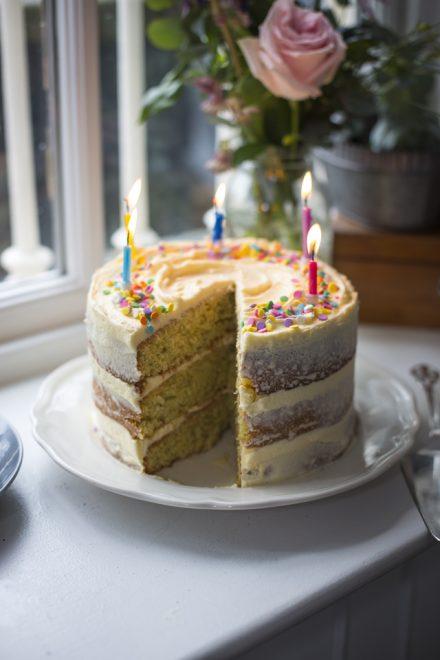 Ultimate Sprinkles Birthday Cake   DonalSkehan.com, My go-to cake for birthdays and celebrations!