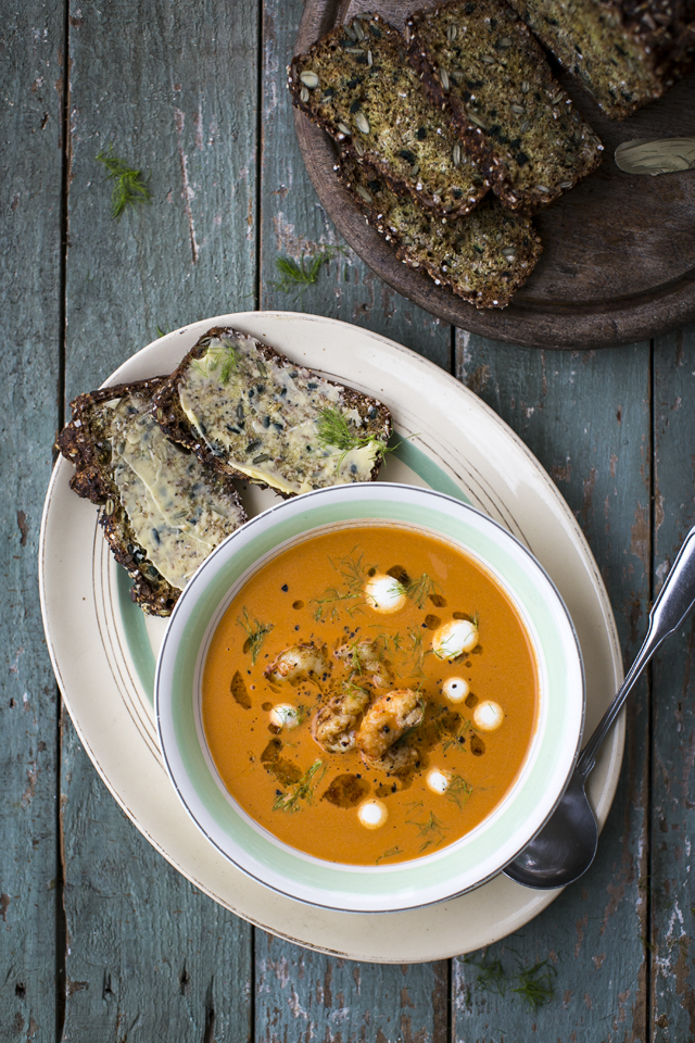 Shellfish & Fennel Bisque | DonalSkehan.com, An sophisticated soup that takes very little effort but has fantastic results.