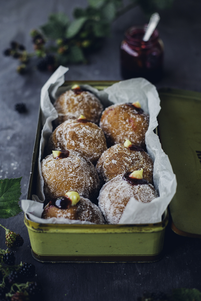 Blackberry & Custard Doughnuts | DonalSkehan.com, These doughnuts will change your life!