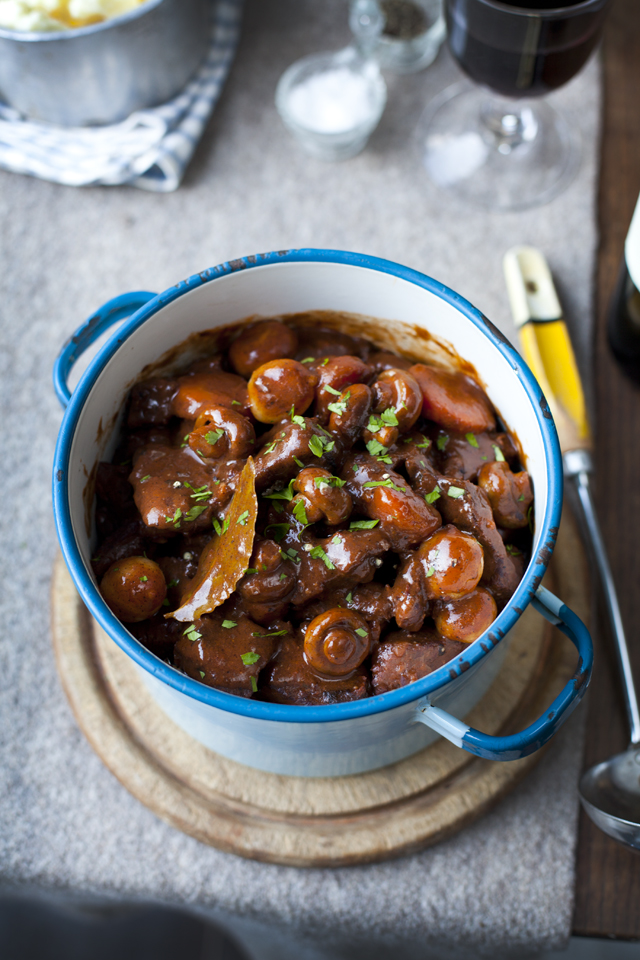 Boeuf Bourguignon | DonalSkehan.com, Tender, slow cooked beef in a rich sauce...Perfection.
