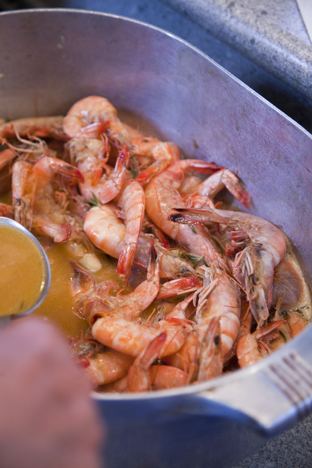Boo's Bar-B-Que Shrimp | DonalSkehan.com, Southern food at it's best!