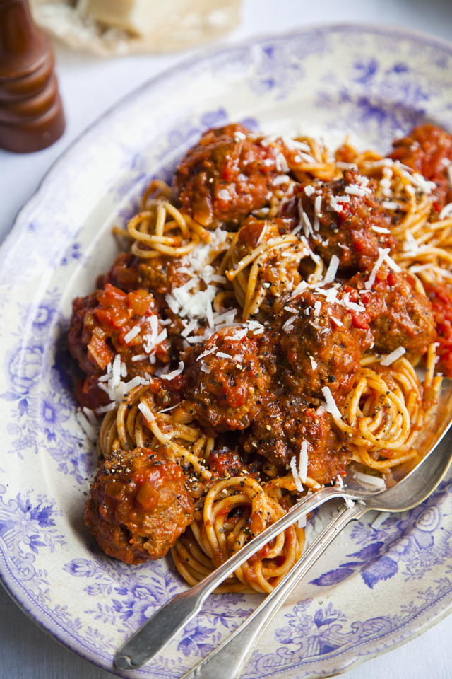 The Very Best Pasta & Meatballs…