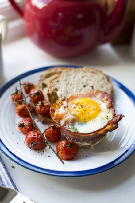 Breakfast Egg Cups | DonalSkehan.com, All your favourite breakfast ingredients rolled into one muffin-shaped morsel!