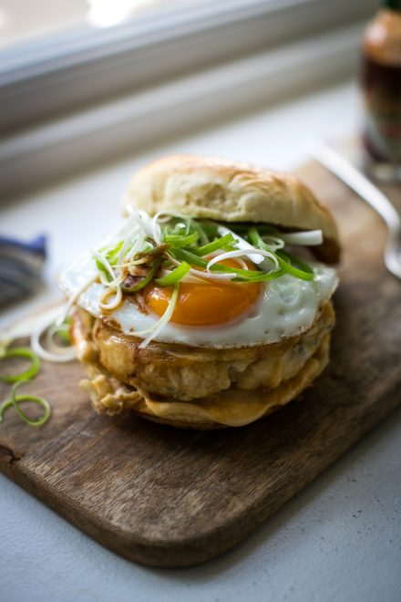 """Egg Slut"" Ultimate Breakfast Sandwich 