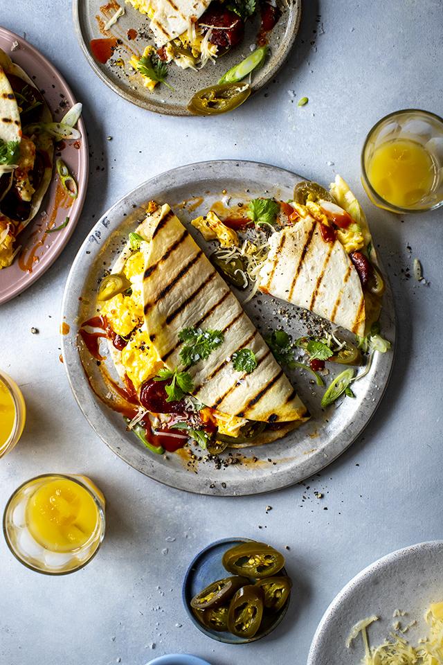 Seriously Good Breakfast Quesadillas | DonalSkehan.com