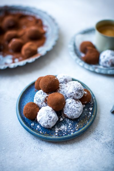 Brigadeiro | DonalSkehan.com, Deliciously gooey chocolate treats, perfect to pop in your mouth.