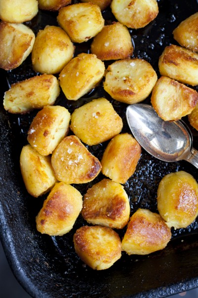 Fluffy and Crispy Goose Fat Potatoes
