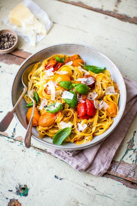 Brown Butter Confit Tomato Pasta | DonalSkehan.com