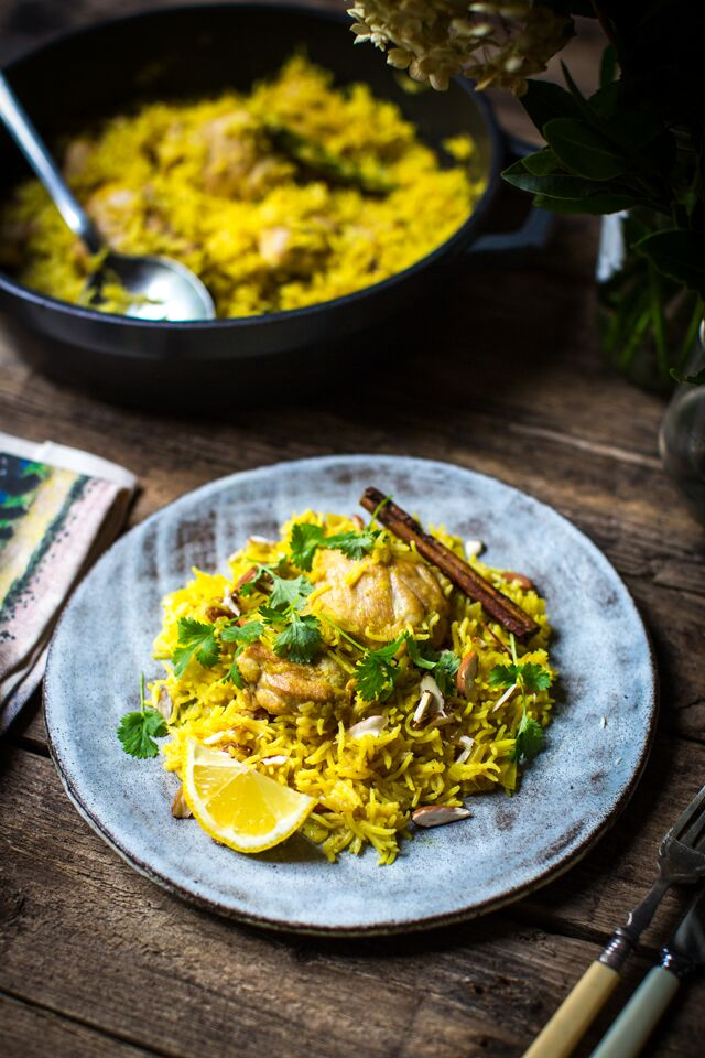 Easy Chicken Biryani | DonalSkehan.com, A simple recipe for this famously fragrant one-pan chicken dish.