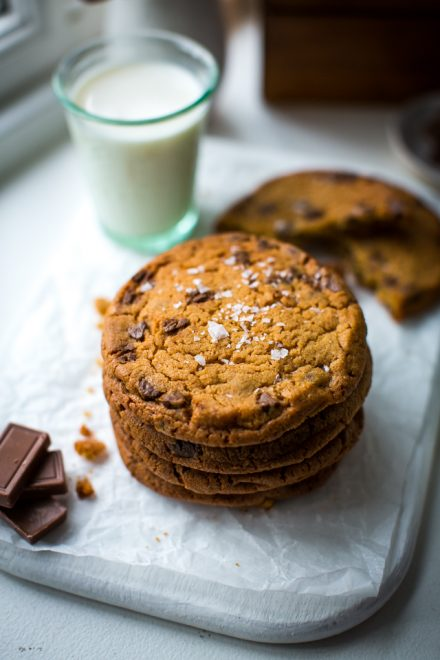 The Best Chocolate Chip Cookies   DonalSkehan.com, One of these chocolate chip cookies and a glass of milk is all you need in life!