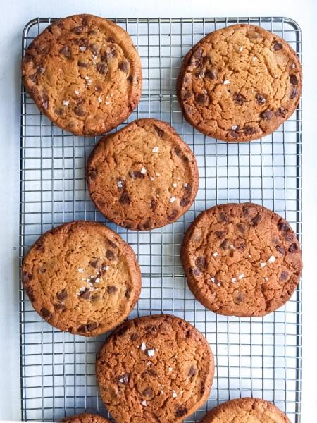 The Best Dark Chocolate Chip Cookies