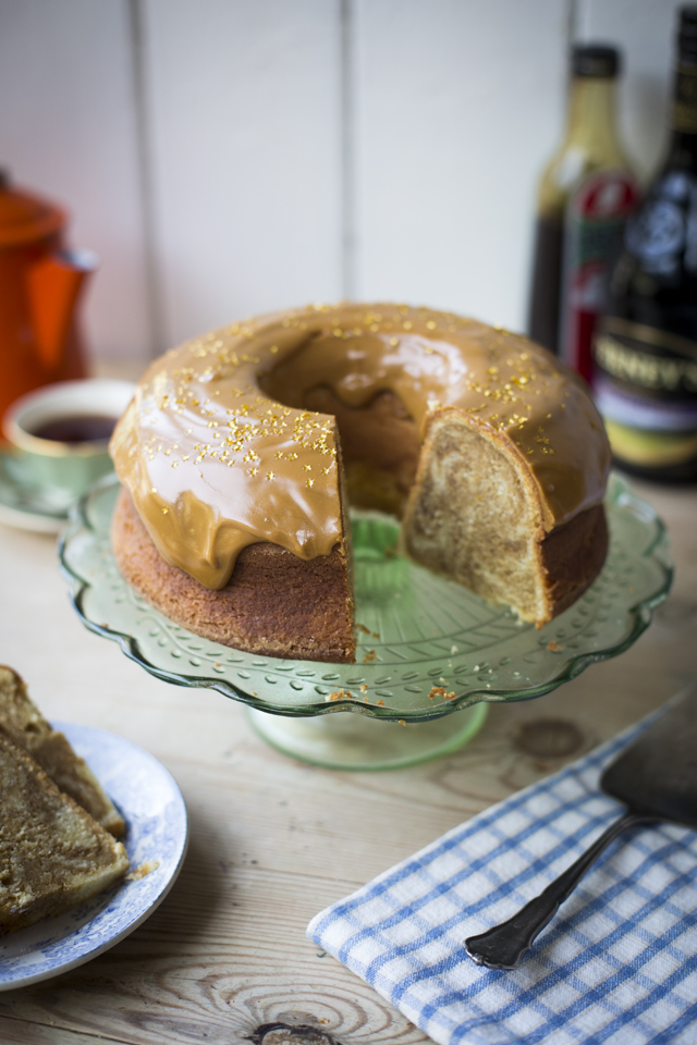 Irish Coffee Cake | DonalSkehan.com, Delicious with a cup of tea.