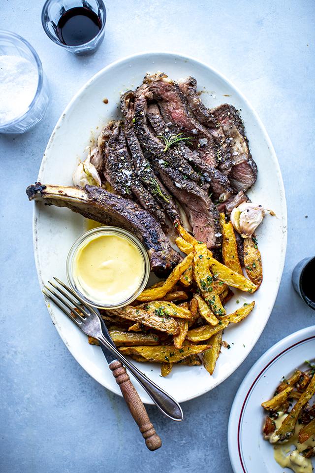 Killer Steak Frites At Home | DonalSkehan.com
