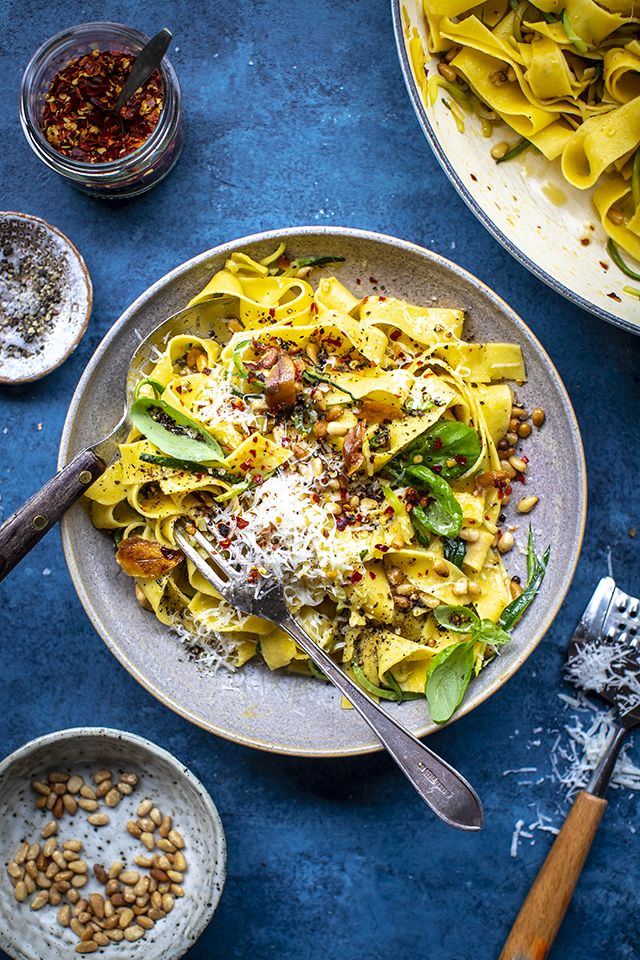 Speedy Green Pasta | DonalSkehan.com