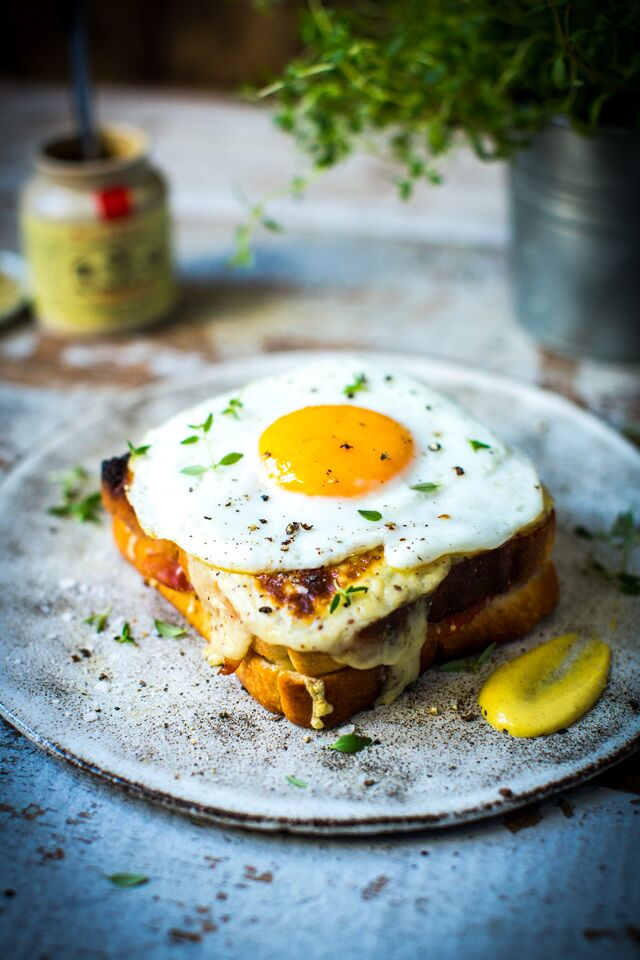 Croque Madame | DonalSkehan.com, A classic French cafe snack.