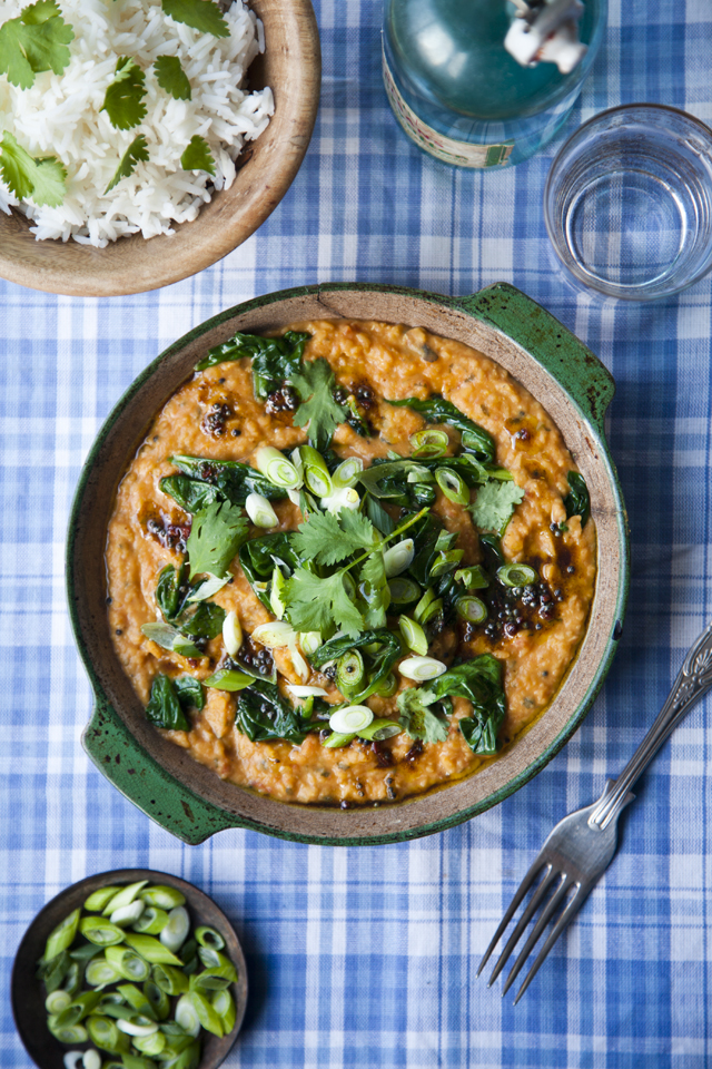 Dahl with Spinach and Tomatoes | DonalSkehan.com, Spicy, comforting & oh so delicious!