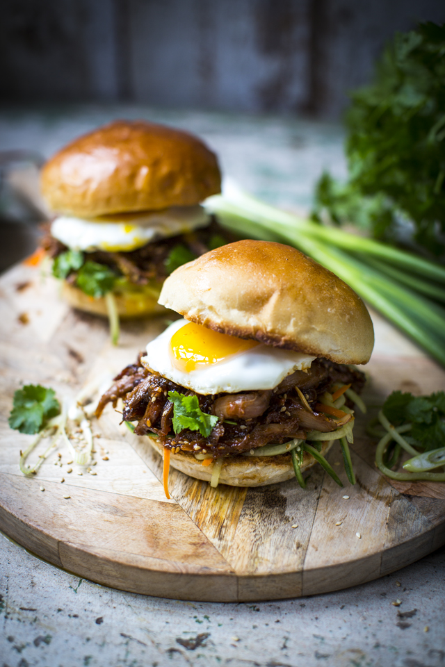Sticky Hoisin Duck Burgers | DonalSkehan.com, The Chinese takeaway favourite meets American dude food.