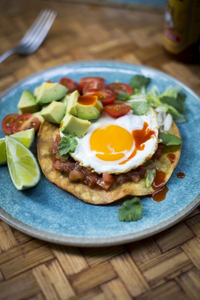Mexican Breakfast Egg Taco