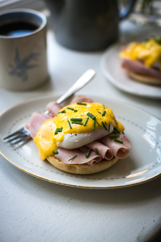 Eggs Benedict | DonalSkehan.com, A classic brunch dish that's easier than you might think!