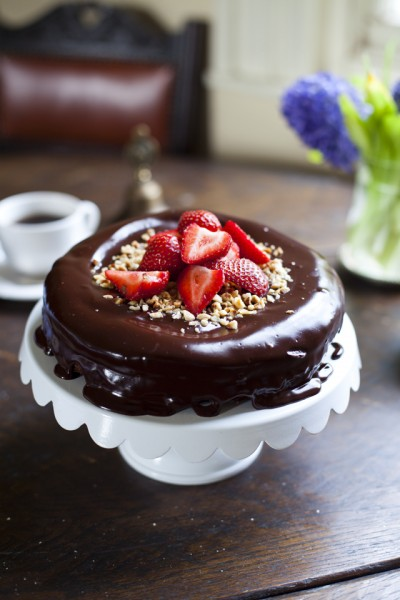 Dark Chocolate Hazelnut Mud Pie