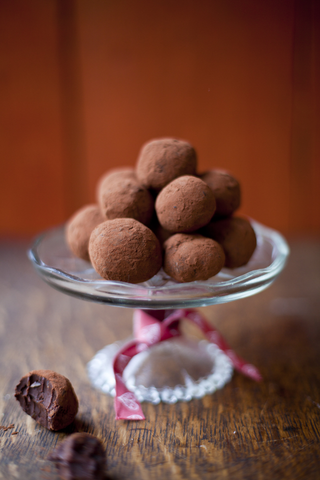 Chocolate Ginger Truffles | DonalSkehan.com, Delicious Christmas treat which made a great edible gift.