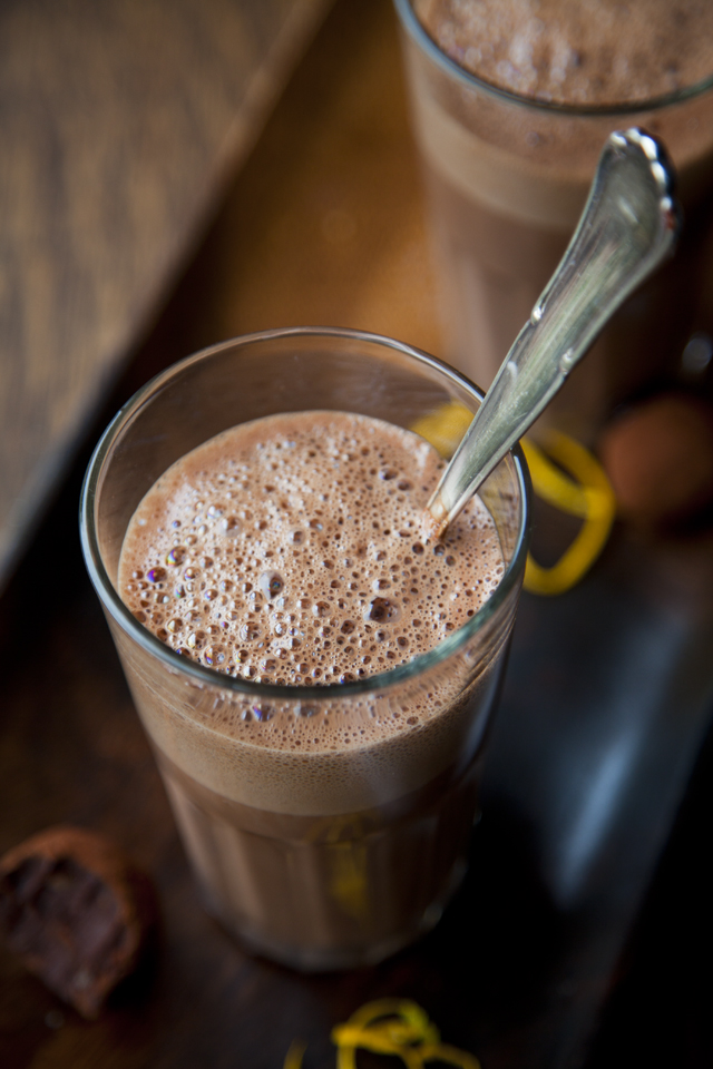 Rich Dark Hot Chocolate | DonalSkehan.com, My favourite hot chocolate recipe.