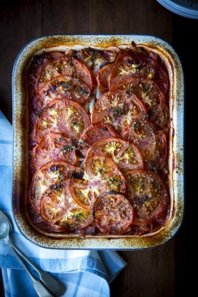 Greek Bean & Tomato Stew