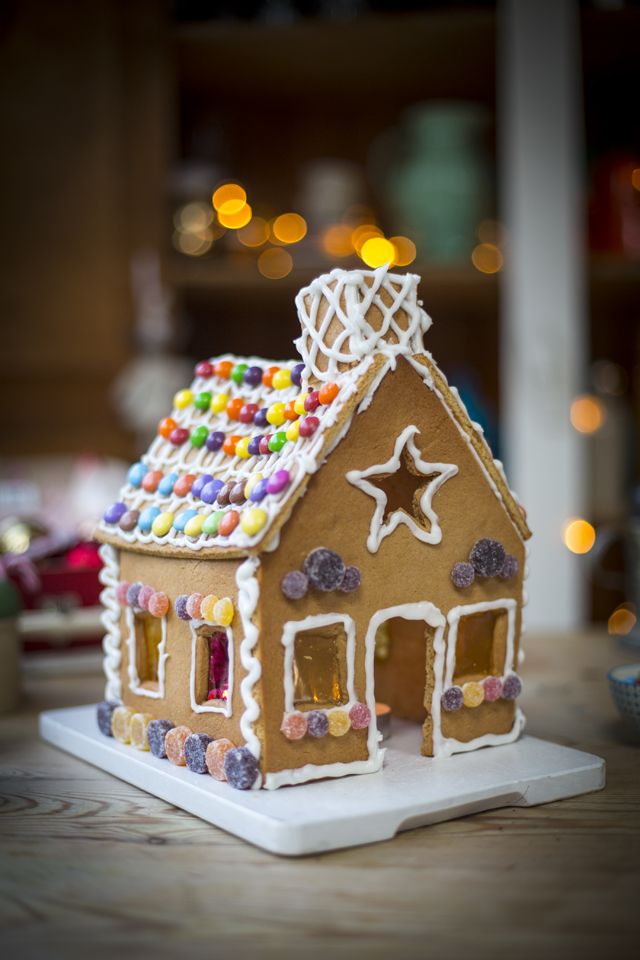 Gingerbread House | DonalSkehan.com, Doubles up as a decoration as well as a delicious treat!
