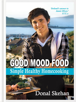Good Mood Food: Simple Healthy Homecooking | DonalSkehan.com, Winner of the Best Irish Published Book at the Irish Book Awards in 2010, Good Mood Food: Simple, Healthy Homecooking, is a stunningly illustrated collection of delicious and easy mood-boosting recipes.