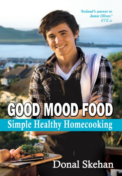 Good Mood Food: Simple Healthy Homecooking!   DonalSkehan.com, Winner of the Best Irish Published Book at the Irish Book Awards in 2010, Good Mood Food: Simple, Healthy Homecooking, is a stunningly illustrated collection of delicious and easy mood-boosting recipes.