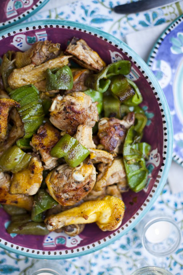 Pollo Ai Peperoni – Roman Style Chicken | DonalSkehan.com, Perfect family meal, best enjoyed out in the sunshine!