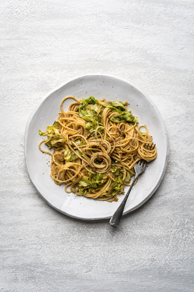 Green Miso Spaghetti | DonalSkehan.com